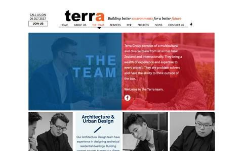 Screenshot of Team Page terragroup.co.nz - The Team I NZ Based I Terra Consultants - captured Oct. 24, 2017
