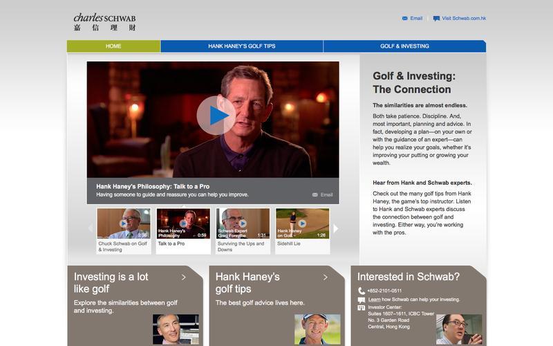 Schwab Golf Home
