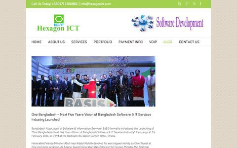 Screenshot of Blog hexagonict.com - Hexagon ICT Blog - Hexagon ICT - captured Sept. 30, 2014