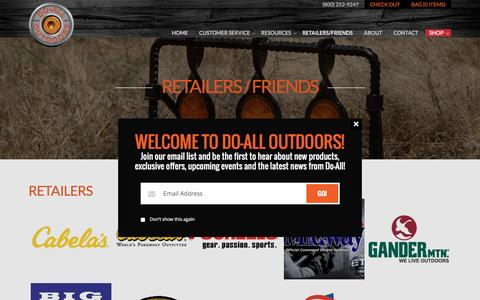 Retailers / Friends | Do All Outdoors
