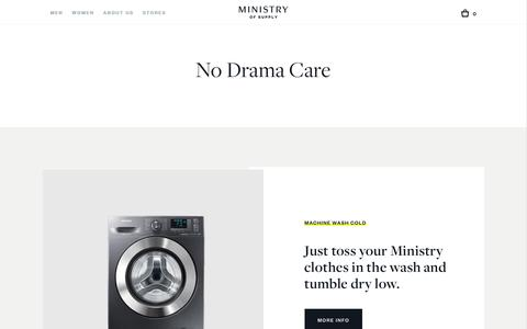 Effortless Care | Ministry of Supply