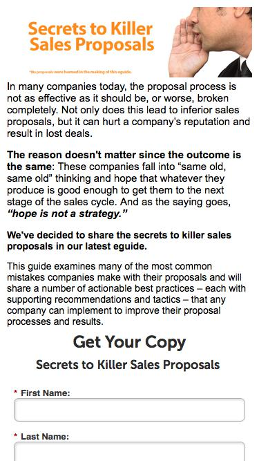Secrets to Killer Sales Proposals | Qvidian
