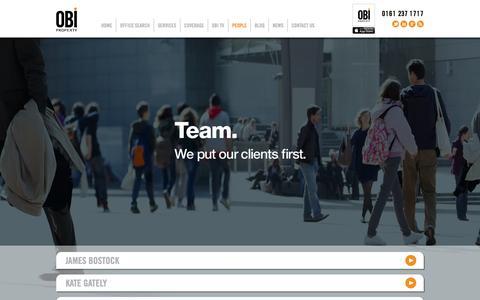 Screenshot of Team Page obiproperty.co.uk - OBI PROPERTY Ltd – PEOPLE - captured Oct. 7, 2014