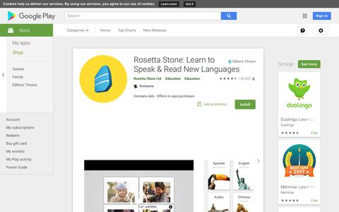 Rosetta Stone: Learn to Speak & Read New Languages - Apps on Google Play