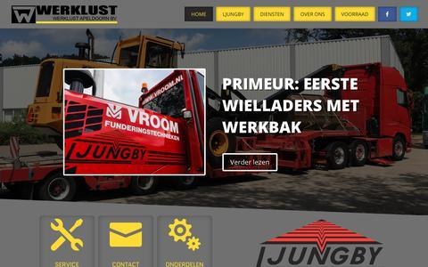 Screenshot of Home Page werklust.nl - Home - Werklust - captured Nov. 18, 2018