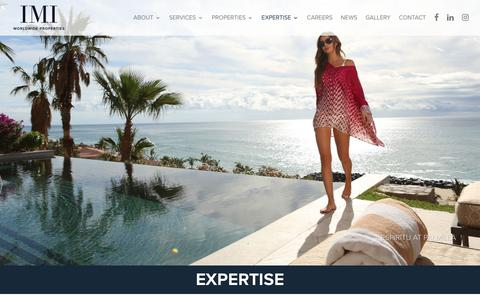 Screenshot of Case Studies Page imiliving.com - IMI Living | Expertise In Luxury Real Estate - captured Oct. 1, 2018