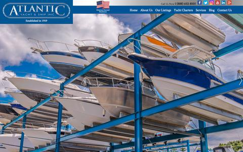 Screenshot of Services Page atlanticyachtandship.com - Atlantic Yacht Services  : Atlantic Yacht & Ship, Inc. - captured Sept. 24, 2018