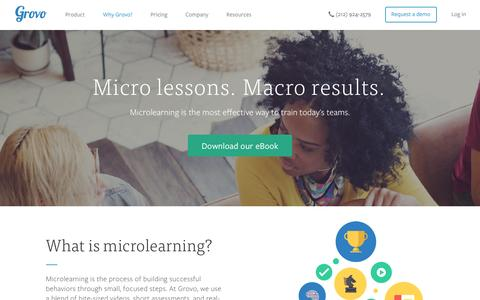 Microlearning | Science-Backed Training Content - Grovo
