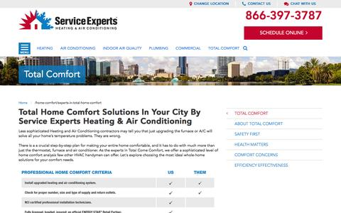 your city Total Home Comfort Experts | [[companyname1]]