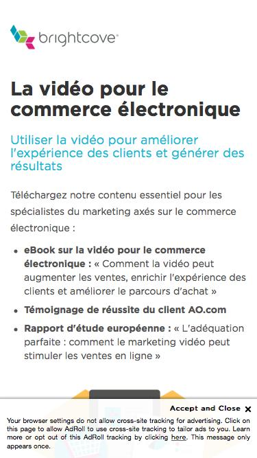 Brightcove | La vidéo pour le commerce électronique