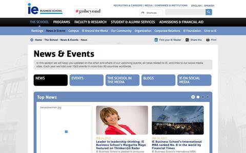News | IE Business School