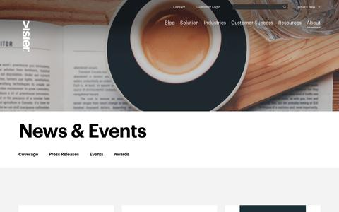 News & Events | Visier Inc.
