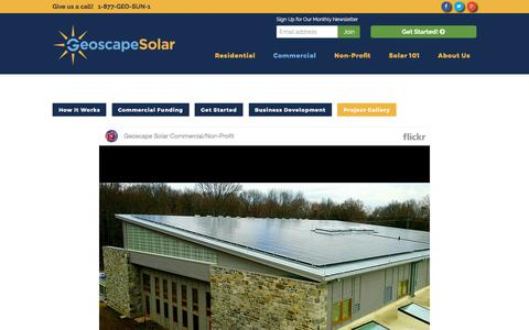 Screenshot of Case Studies Page geoscapesolar.com - Case Studies - Geoscape Solar - captured May 17, 2017