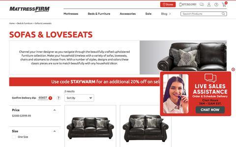 Shop Sofas & Loveseats | Mattress Firm