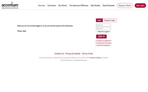 Accenture Academy - Overview