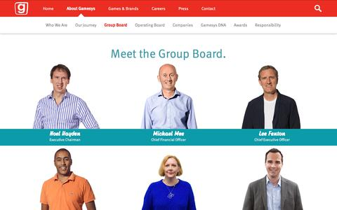 Screenshot of Team Page gamesyscorporate.com - Team | Gamesys Corporate - captured Sept. 20, 2018