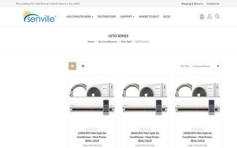 Air Conditioners - Mini Split - LETO Series - Senville