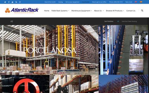 Screenshot of Case Studies Page atlanticrack.com - Atlantic Rack Case Studies |  Atlantic Rack | Warehouse Equipment and Supplies - captured Oct. 29, 2014