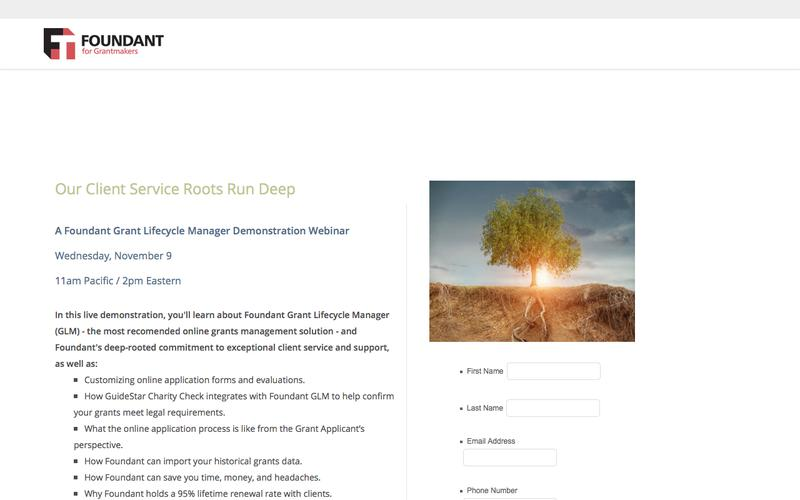 Grant Management Software   Foundant for GrantMakers