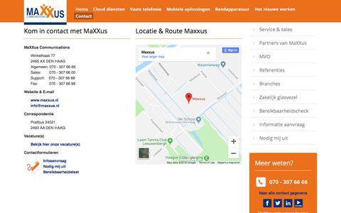 Screenshot of Contact Page callglobal.nl - Contact - captured Sept. 26, 2018