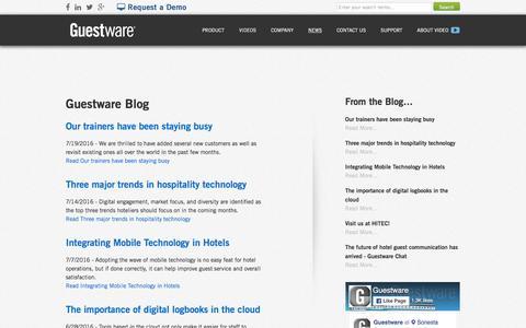 Guestware Blog