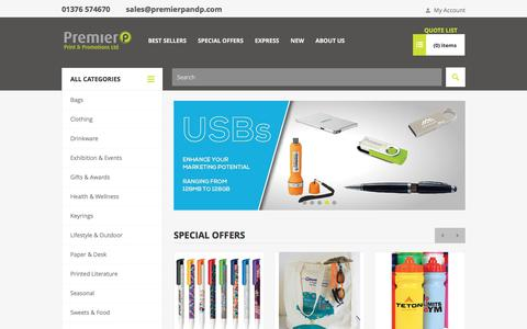 Buy Promotional Products and Corporate Gifts at Premier UK