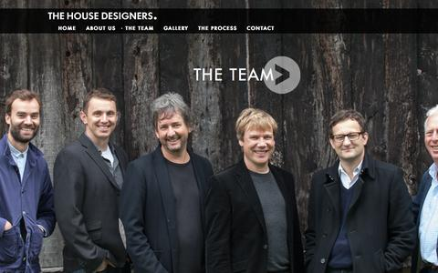 Screenshot of Team Page thehousedesigners.eu - The Team - The House Designers - captured Oct. 26, 2014
