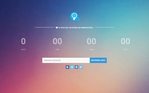 Screenshot of Home Page quantuminvent.net - Quantum Invent :: Agence web marketing Casablanca - captured March 13, 2016