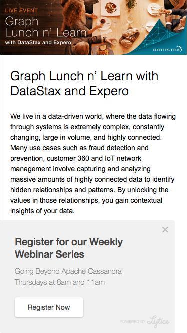 DataStax Event