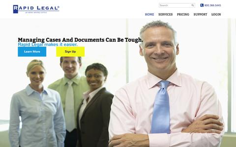 File and Serve Legal Documents Online – Rapid Legal