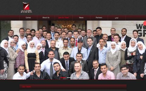 Screenshot of Team Page gamepower7.com - Our Team | Game Power 7 - captured Oct. 28, 2014