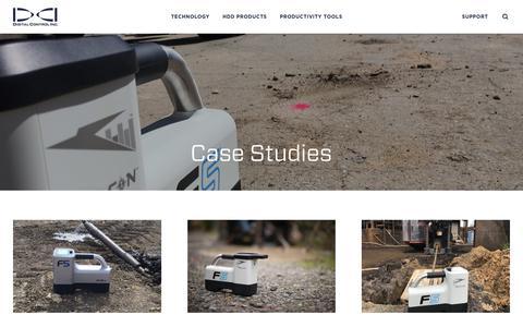 Screenshot of Case Studies Page digital-control.com - Case Studies | Digital Control Inc. - captured Feb. 7, 2018