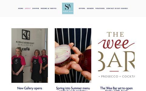 Screenshot of Press Page selkirkarmshotel.co.uk - News — Selkirk Arms Hotel - captured July 26, 2018