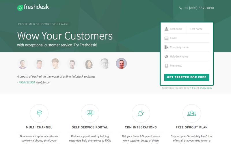 Freshdesk customer support software | Start supporting customers for FREE
