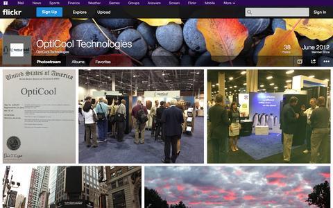 Screenshot of Flickr Page flickr.com - Flickr: OptiCool Technologies' Photostream - captured Oct. 26, 2014