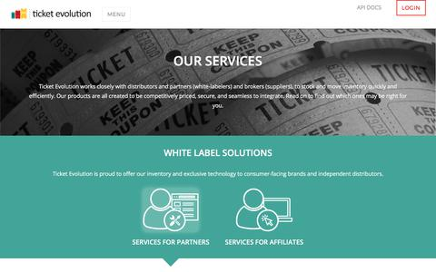Our Services - Ticket Evolution