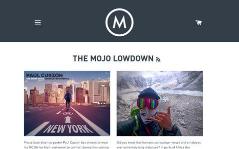 Screenshot of Press Page mojodownunder.com - The Mojo Lowdown | Mojo Downunder Blog - captured June 19, 2017