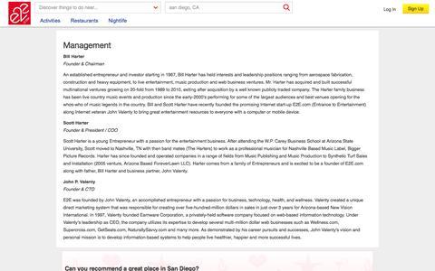 Screenshot of Team Page e2e.com - Site - Management - captured Sept. 24, 2014