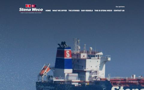 Screenshot of Contact Page stenaweco.com - Contact us | Stena Weco - captured Oct. 1, 2014