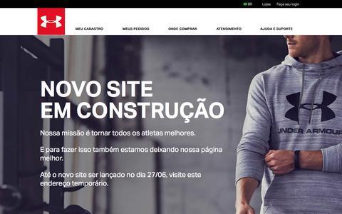 Under Armour Brasil - Loja Online Oficial