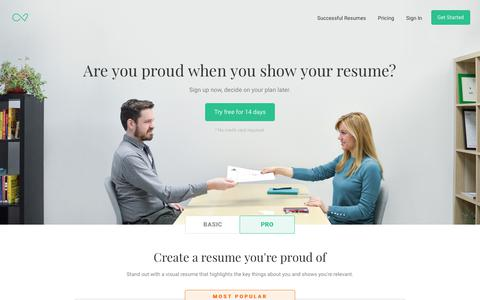 Enhancv | Professional Resume & CV Builder