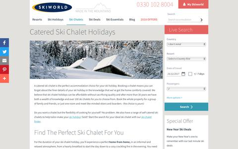 Ski Chalet Holidays | Catered Chalet Deals 2017 | Skiworld