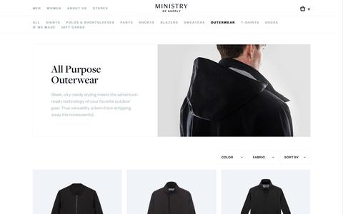 Men's Outerwear, Coats, Jackets, and Overcoats | Ministry of Supply
