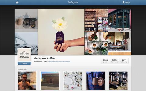 Screenshot of Instagram Page instagram.com - Instagram - captured Oct. 25, 2014