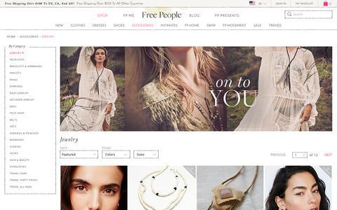 Bohemian Jewelry: Boho Necklaces & Bracelets | Free People | Free People