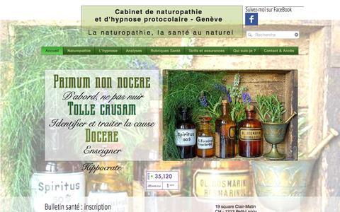 Screenshot of Home Page cdn-geneve.ch - cdn-geneve - captured Oct. 16, 2015