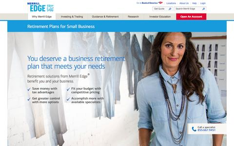 Small Business Retirement Plans & Financial Solutions