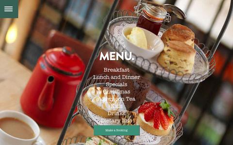 Screenshot of Menu Page bills-website.co.uk - Menu | Bill's - Breakfast to Bedtime - captured Sept. 19, 2014