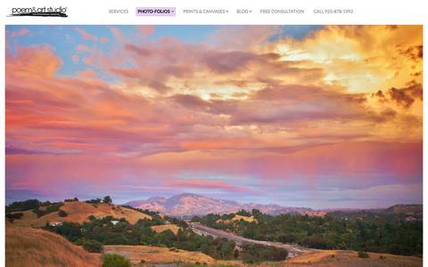 Screenshot of Home Page poemandart.com - Home | Poem and Art Studio - captured Oct. 2, 2014