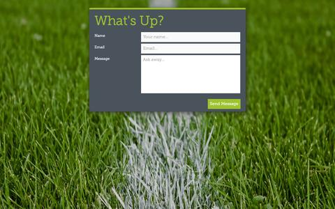 Screenshot of Contact Page football4football.com - football4football - captured Oct. 29, 2014